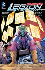 Legion of SuperHeroes Volume 3: The Fatal Five TP (The New 52) (Paperback)Books