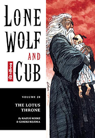 Lone Wolf and Cub Volume 28: The Lotus Throne: Lotus Throne v. 28 (Lone Wolf and Cub (Dark Horse)) (Books