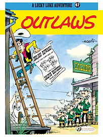 Lucky Luke Vol. 47 : Outlaws (Lucky Luke S) (Paperback)Books