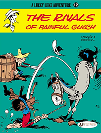 Lucky Luke Vol.12: The Rivals of Painful Gulch (Lucky Luke Adventure) (Paperback)Books