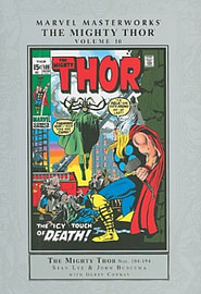 Marvel Masterworks - The Mighty Thor - Volume 10 (Hardcover)Books
