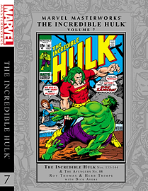 Marvel Masterworks The Incredible Hulk Volume 7 (Marvel Masterworks (Unnumbered)) (Hardcover)Books
