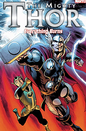 Mighty Thor, The: Everything Burns (Paperback)Books