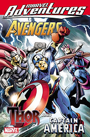 MARVEL ADVENTURES AVENGERS THOR CAPTAINBooks