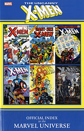 Official Index to the Marvel Universe: Uncanny X-Men (Paperback)Books