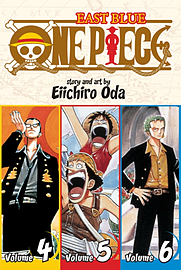 One Piece East Blue 4-5-6 (One Piece 3 in 1) (Paperback)Books