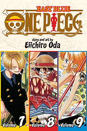 One Piece East Blue 7-8-9 (Shonen Jump Manga) (Paperback)Books