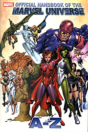 OFFICIAL HANDBOOK OF THE MARVEL UNIVBooks