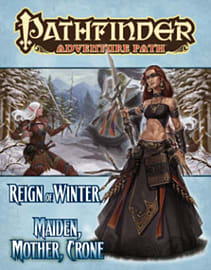 Pathfinder Adventure Path: Reign of Winter Part 3 - Maiden, Mother, CroneBooks