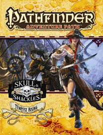 Pathfinder Adventure Path: Skull & Shackles Part 3 - Tempest Rising (Paperback)Books