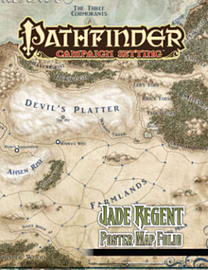 Pathfinder Campaign Setting: Jade Regent Poster Map Folio (Paperback)Books