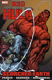 Red Hulk: Scorched Earth (Incredible Hulk) (Hulk (Paperback Marvel)) (Paperback)Books