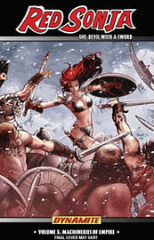 Red Sonja: She-Devil with a Sword TP Vol 10 Machines of Empire TP (Paperback)Books