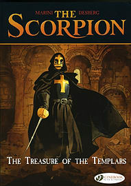 Scorpion, The Vol.4: The Treasure of the Templars (Scorpion (Cinebook)) (Paperback)Books