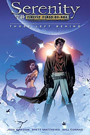 Serenity - Those Left Behind (Paperback)Books