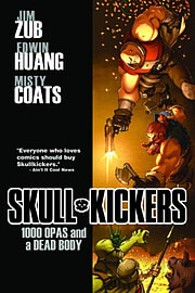Skullkickers Volume 1: 1000 Opas and a Dead Body TP (Paperback)Books