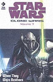 Star Wars - The Clone Wars: When They Were Brothers (Star Wars Clone Wars) (Paperback)Books