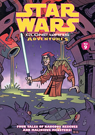 Star Wars: Clone Wars Adventures: v. 9 (Star Wars) (Paperback)Books