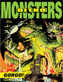 Steve Ditko's Monsters Volume 1: Gorgo (Hardcover)Books