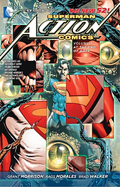 Superman Action Comics Volume 3: At The End of Days HC (The New 52) (Hardcover)Books