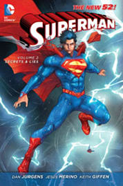 Superman Volume 2: Secrets & Lies HC (The New 52) (Hardcover)Books