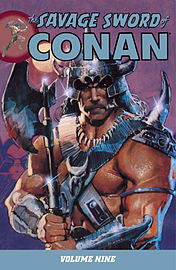 SAVAGE SWORD OF CONAN VOL 9Books