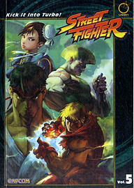 STREET FIGHTER VOLUME 5 KICK IT INTO TURBooks