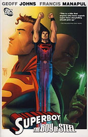 SUPERBOY THE BOY OF STEELBooks