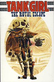 Tank Girl: The Royal Escape (Paperback)Books