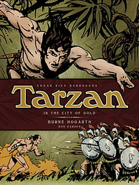 Tarzan - In The City of Gold (Vol. 1) (Complete Burne Hogarth Sundays and Dailies Library) (HardcoveBooks