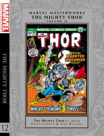 Marvel Masterworks: The Mighty Thor Volume 12 (Hardcover)Books