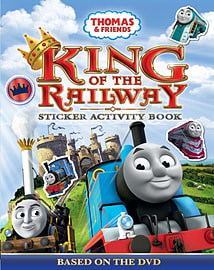 Thomas & Friends: King of the Railway- Sticker Activity Book (Paperback)Books