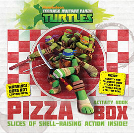 Tmnt Pizza Activity Box (Teenage Mutant Ninja Turtles)Books