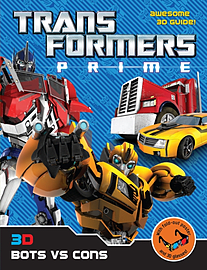 Transformers Prime: 3D Bots Vs Cons (Paperback)Books