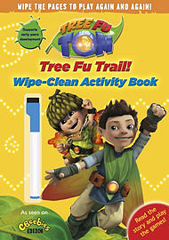 Tree Fu Tom: Tree Fu Trail! Wipe-Clean Activity Book (Paperback)Books