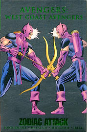 West Coast Avengers - Zodiac Attack (Hardcover)Books