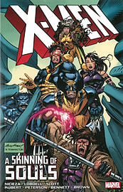 X-Men: A Skinning of Souls (X-Men (Marvel Paperback)) (Paperback)Books