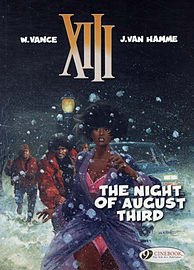 XIII Vol.7: The Night of August Third (XIII (Cinebook)) (Paperback)Books