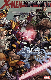 XMEN TO SERVE & PROTECTBooks