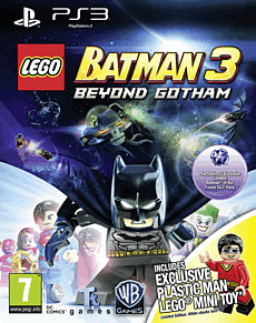 LEGO Batman 3: Beyond Gotham with Plastic Man LEGO MinifigurePlayStation 3Cover Art