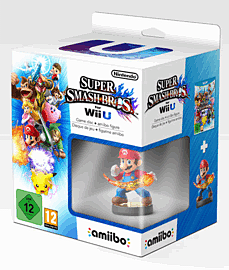 Super Smash Bros. For Wii U With Mario AmiiboWii-U