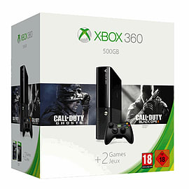 Xbox 360 500GB with Call of Duty: Black Ops II and Call of Duty: GhostsXbox 360