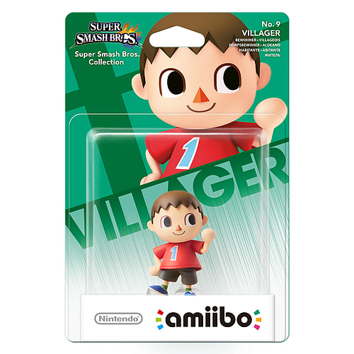 Animal crossing Villager amiibo