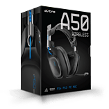 Astro A50 Gaming Headset for PlayStation 4 - Black screen shot 1