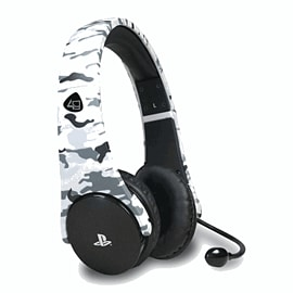 PlayStation 4 Stereo Gaming Headset Starter Kit (Arctic Camo) Accessories