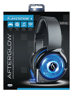 Afterglow Kral PlayStation 4 Wireless HeadsetAccessories