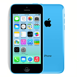 Apple iPhone 5C 16GB Blue Unlocked C GradeSku Format CodeCover Art