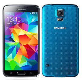Samsung Galaxy S5 16GB Blue (Good Condition) – UnlockedSku Format Code