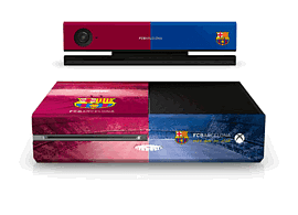 Xbox One Barcelona FC Console SkinAccessories