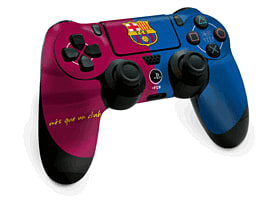 PlayStation 4 Barcelona FC Controller SkinAccessories